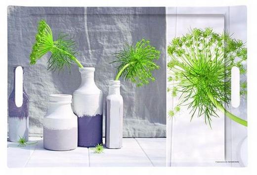 SERVIERTABLETT Kunststoff - Multicolor, Basics, Kunststoff (45,5/31/4,4cm) - HOMEWARE