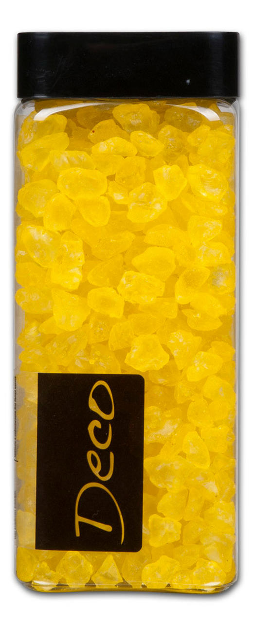 DEKORSTENAR - gul, Basics, plast (0.55l) - AMBIA HOME