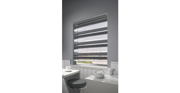 DUOROLLO - Anthrazit/Weiß, Design, Textil (80/160cm) - Homeware