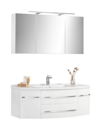 KOPALNICA  bela  - bela, Design, kamen/leseni material (120/55cm) - Xora
