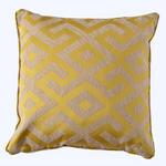 KISSENHÜLLE Gelb 50/50 cm  - Gelb, Trend, Textil (50/50cm) - Ambiente