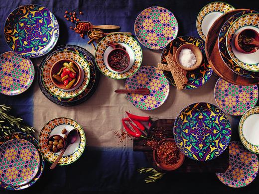 KOMBI SERVIS - višebojno, Basics, keramika - Thomas