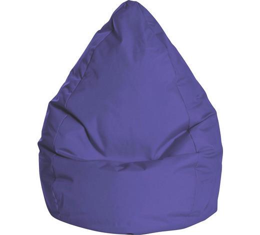 SITZSACK in Textil Blau - Blau, Design, Textil (80/130/80cm)