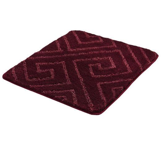BADTEPPICH in Rosa 55/65 cm - Rosa, KONVENTIONELL, Kunststoff/Textil (55/65cm) - Kleine Wolke