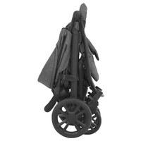BUGGY  Litetrax 4  Grau  - Schwarz/Grau, Basics, Textil/Metall (60/103,5/92cm) - Joie