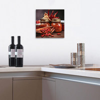 DEKOPANEEL - Multicolor, Basics, Holz/Papier (30/30/2,60cm) - Eurographics