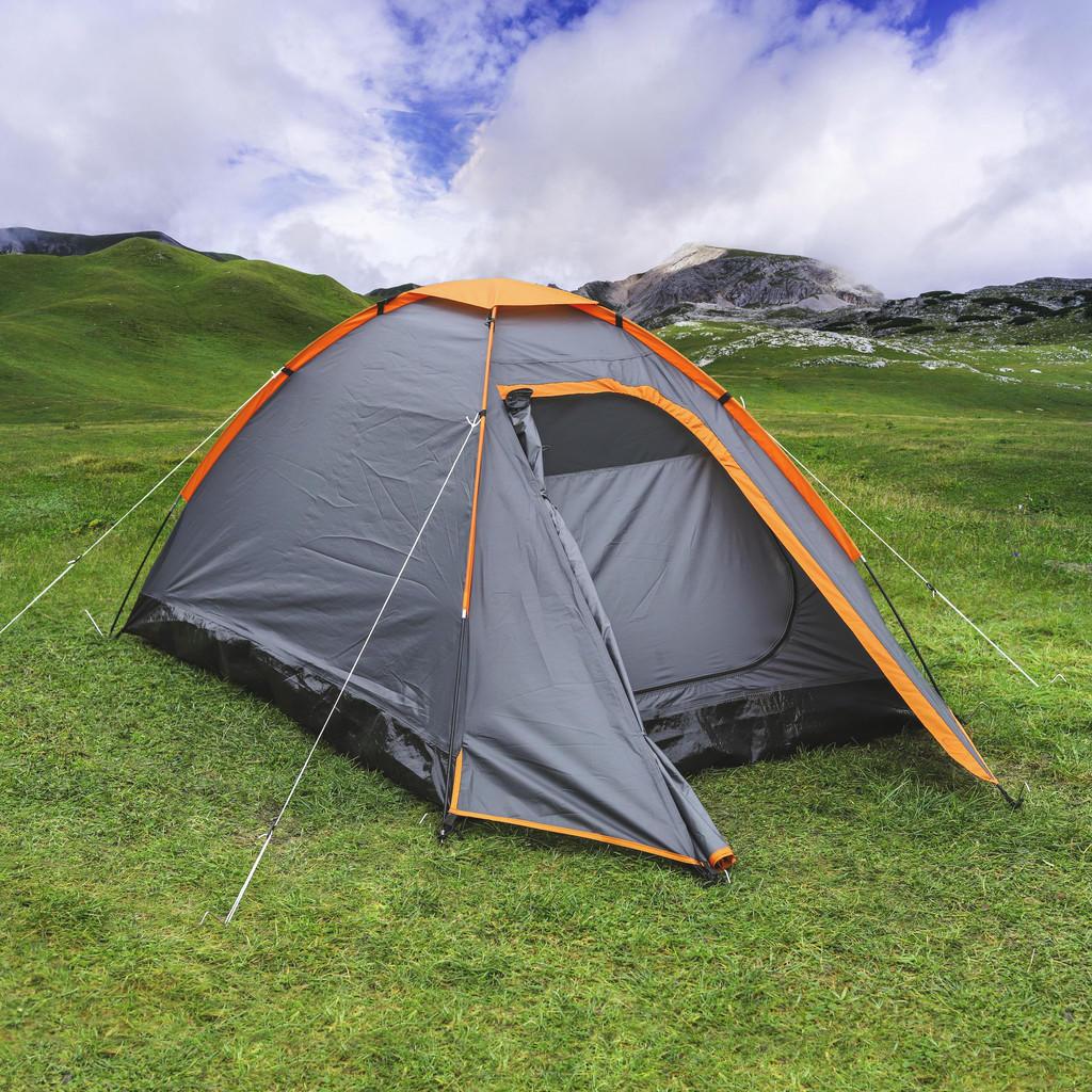 XXXL ZELT, Orange   Baumarkt > Camping und Zubehör > Zelte   Orange   Textil