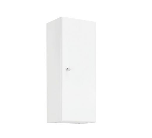 ZÁVĚSNÁ SKŘÍŇKA - bílá/barvy chromu, Konvenční, kompozitní dřevo (25/63/20cm) - Xora