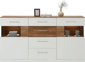 SIDEBOARD - vit, Design, trä (180/95/44cm) - Premium Living