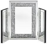 SPIEGEL Silberfarben  - Silberfarben, LIFESTYLE, Glas/Holzwerkstoff (76/56,3/2,8cm) - Xora