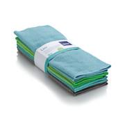 MIKROFASERTUCH - Blau/Anthrazit, Basics, Textil (30/30cm) - Kela