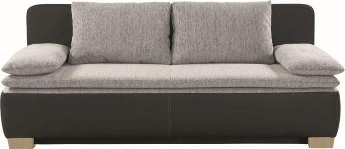 TROSED - Crna/Prirodna boja, Dizajnerski, Tekstil (200/80/93cm) - Xora