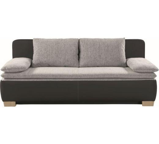 TROSJED SOFA - siva/prirodne boje, Design, tekstil (200/80/93cm) - Xora