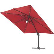 SUNCOBRAN - crvena/antracit, Design, metal/tekstil (300/255/300cm) - Ambia Garden