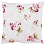 Zierkissen Rosmarie 40x40 cm - Rosa/Weiß, ROMANTIK / LANDHAUS, Textil (40/40cm) - James Wood