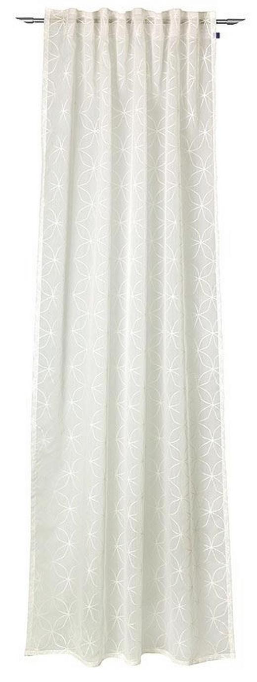 VORHANGSCHAL    140/250 cm - Weiß, Textil (140/250cm) - Joop!