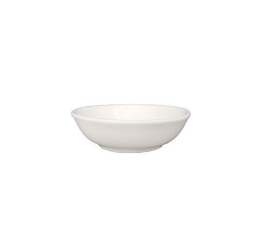 DIPSCHALE - Weiß, Basics, Keramik (7,1/7,1/2,2cm) - Novel