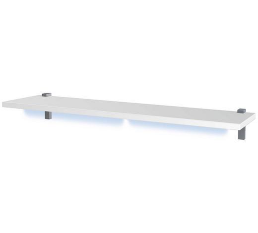 WANDBOARD in 125/2,2/20 cm Weiß  - Weiß, Design, Holzwerkstoff (125/2,2/20cm) - Xora