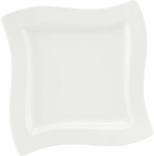 Fine China  DESSERTTELLER  quadratisch - Weiß, Basics (24/24cm) - VILLEROY & BOCH