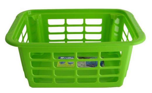 KOŠARA REVERSO - zelena, Basics, umetna masa (29/19/12,5cm) - Rotho