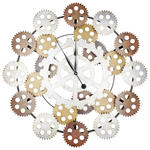 WANDUHR 84 cm   - Multicolor, LIFESTYLE, Metall (84cm) - Ambia Home
