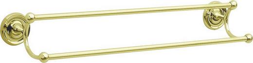 HANDTUCHSTANGE - Goldfarben, Basics, Metall (63,5cm)