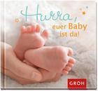 GESCHENKBUCH Hurra, euer Baby ist da! - (11,5/12,4/1cm) - GROH