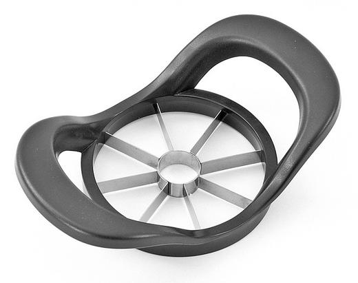 APFELTEILER - Anthrazit, Basics, Kunststoff/Metall (18/11cm) - Homeware