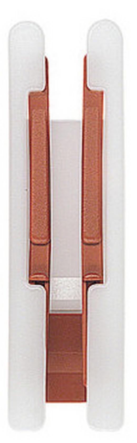 LIFTSCHLEUSE - Braun/Weiß, Basics, Kunststoff (1.8/6.5cm) - Homeware