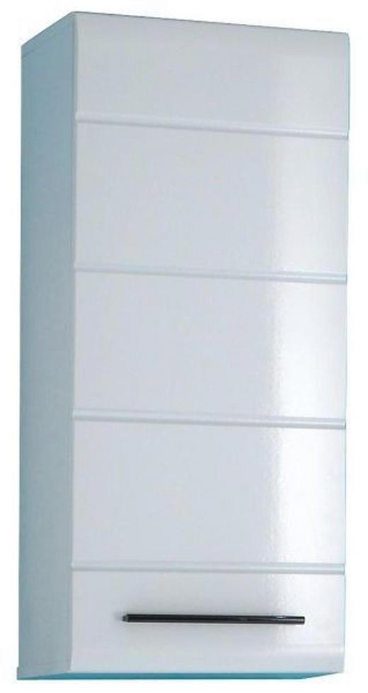 HÄNGESCHRANK Weiß - Schwarz/Weiß, Design, Holzwerkstoff/Kunststoff (38/87/30cm) - Xora