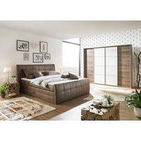 POSTEL BOXSPRING, 180 cm  x 200 cm, textil, světle hnědá - světle hnědá, Design, textil (180/200cm) - Carryhome