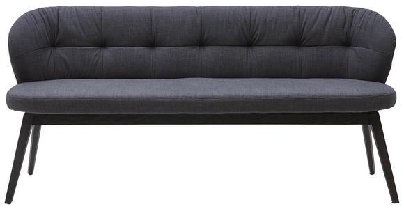 SITZBANK 188/84/60 cm  in Anthrazit - Anthrazit, KONVENTIONELL, Holz/Textil (188/84/60cm) - Valnatura