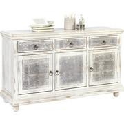 KOMODA - šedá/bílá, Trend, kov/dřevo (145/85/45cm) - Ambia Home