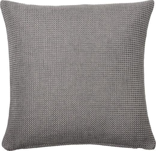 KISSENHÜLLE Silberfarben 60/60 cm - Silberfarben, Basics, Textil (60/60cm) - Novel