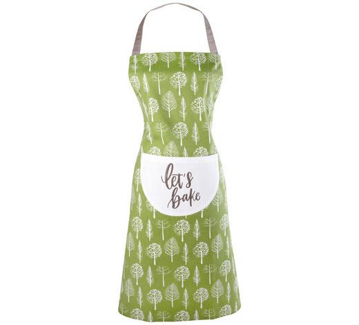 SCHÜRZE Olivgrün - Olivgrün, LIFESTYLE, Textil (70/90cm) - Esposa