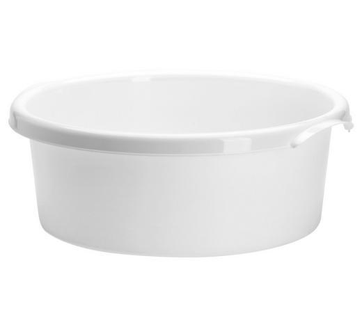 NÁDOBÁ NA OPLACHOVÁNÍ - bílá, Basics, umělá hmota (33,5/33,5/12,5cm) - Plast 1
