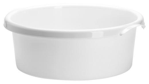 SPÜLSCHÜSSEL - Weiß, Basics, Kunststoff (33,5/33,5/12,5cm)
