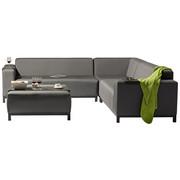 LOUNGEGARNITUR 7-teilig - Grau, Design, Textil/Metall (245/245cm) - Amatio