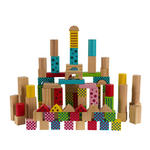 BAUSTEINE - Multicolor, Basics, Holz (18/27.5cm) - My Baby Lou
