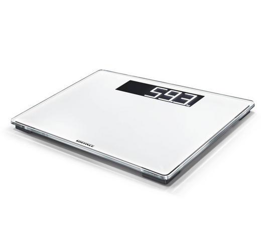 PERSONENWAAGE - Weiß, Basics, Glas/Kunststoff (30/35/2,6cm) - Soehnle