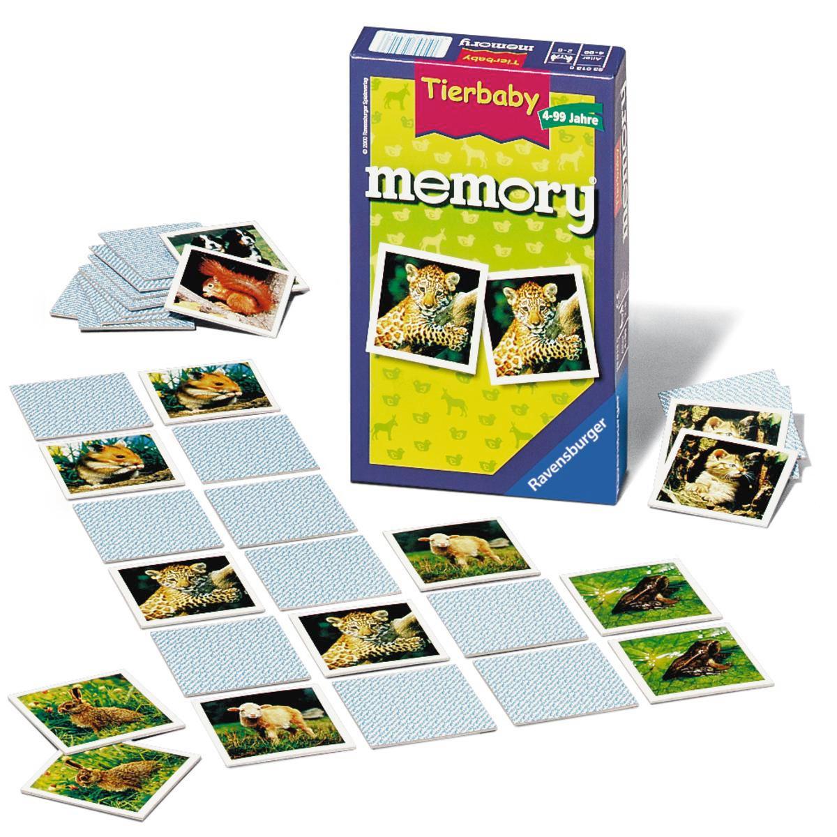 MEMORY - Multicolor, Basics, Karton (18,3/11,5/3,7cm) - RAVENSBURGER