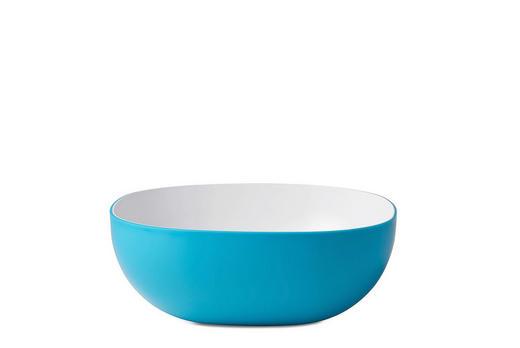 SCHALE Kunststoff - Blau, Design, Kunststoff (23/23/8,8cm) - Mepal Rosti