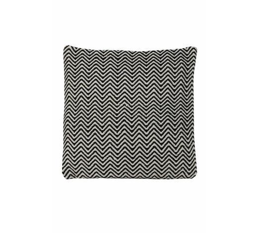 ZIERKISSEN - Schwarz, Design, Textil (45/45cm)