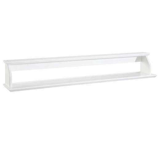 WANDBOARD Weiß  - Weiß, Trend (93/20/18cm) - Jimmylee