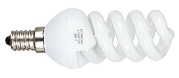 Energiesparleuchtmittel E14 - Basics (8cm)
