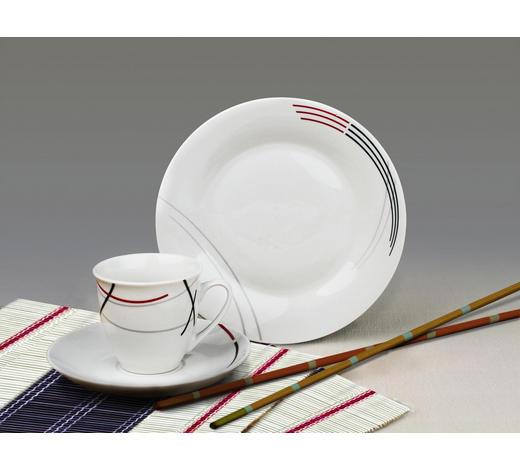 Porzellan  KAFFEESERVICE 18-teilig   - Basics, Keramik (30,3/19,9/16,3cm)