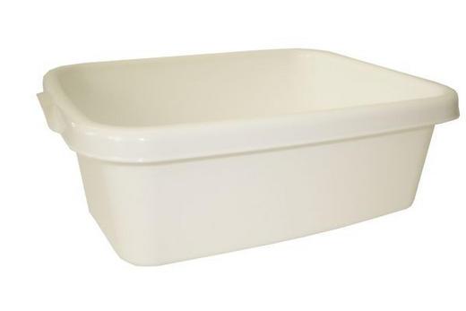 SPÜLSCHÜSSEL - Weiß, Basics, Kunststoff (10l) - Plast 1