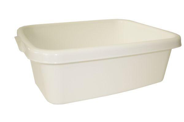 SPÜLSCHÜSSEL - Weiß, Basics, Kunststoff (10l)