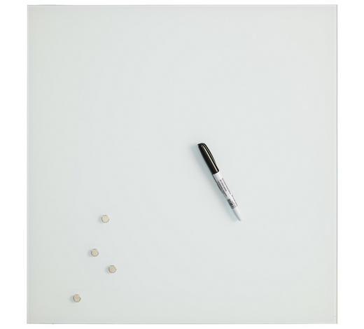 MAGNETTAFEL - Weiß, Basics, Glas (50/50cm)
