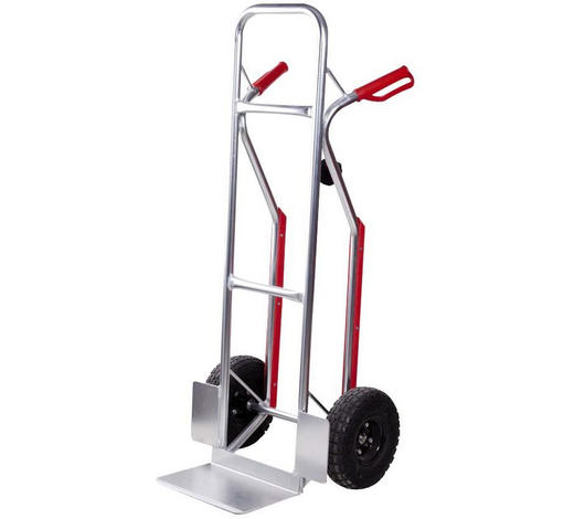 SACKKARRE AHT200 - Rot/Silberfarben, KONVENTIONELL, Kunststoff/Metall (118cm)